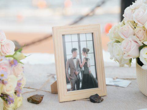 Rộn ràng ngày cưới của anh Quang và chị Trang cùng biển xanh, cát trắng, nắng vàng