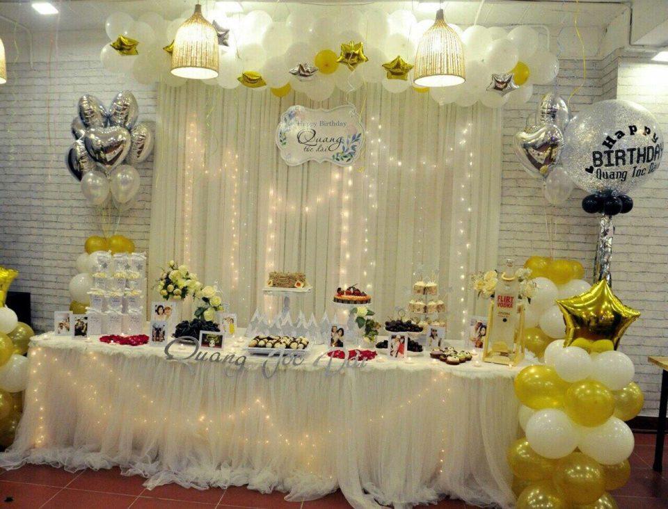 Hướng dẫn quý khách cách tổ chức tiệc sinh nhật ấm cúng bên gia đình, bạn bè