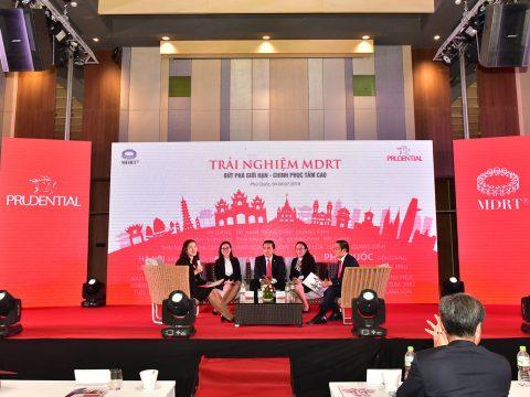 Hội nghị khách hàng Trải nghiệm MDRT – Bứt phá giới hạn – Chinh phục tầm cao cùng Prudential 2018 tại Phú Quốc