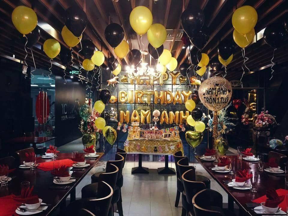 Tổ chức tiệc sinh nhật tưng bừng đầy ý nghĩa giá tốt nhất tại Bình Dương