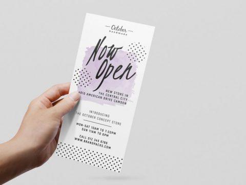Thiệp mời khai trương – Vai trò và xu hướng thiết kế hiện đại