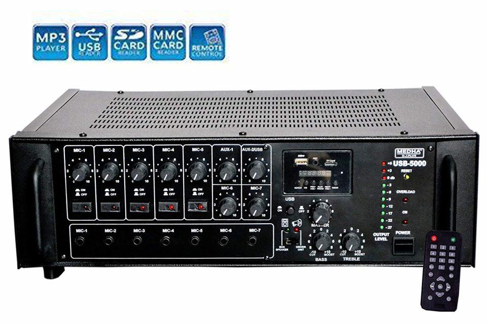Amplifier - Thiết bị chỉnh âm thanh hàng đầu ấn tượng hiện nay