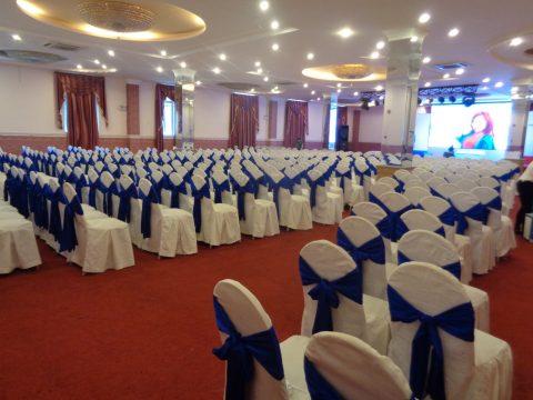 Hướng dẫn tổ chức hội nghị quy mô 200 – 500 khách