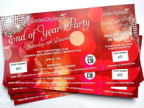 Gợi ý mẫu thiết kế thư mời tiệc tất niên cuối năm 2021