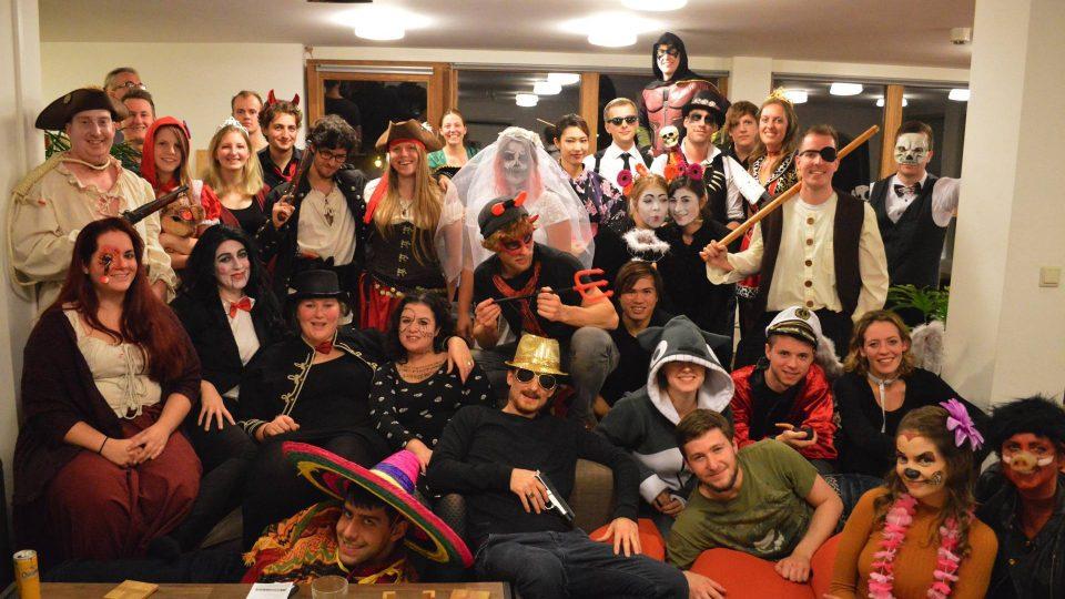 tổ chức lễ hội hóa trang halloween