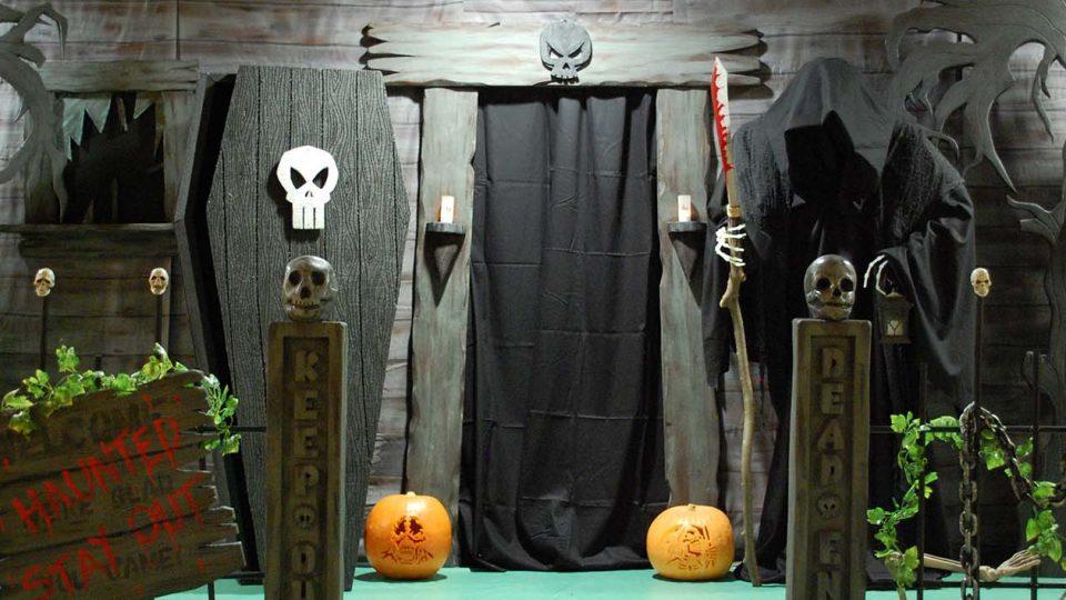 ý tưởng tổ chức halloween