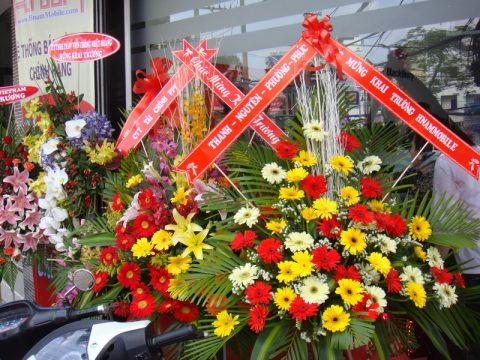Những mẫu hoa mừng khai trương cửa hàng mang đến tài lộc