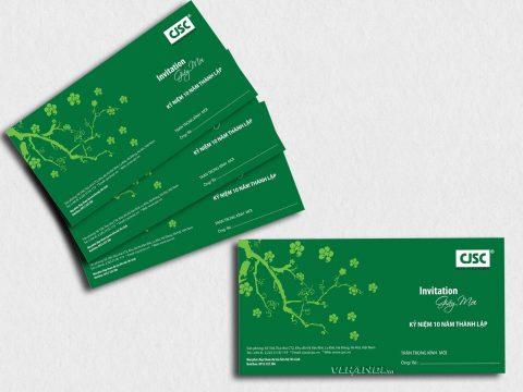 Cách thiết kế mẫu thư mời dự tiệc tri ân khách hàng chi tiết