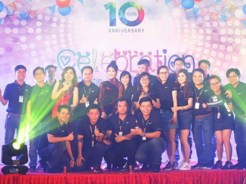 Lễ kỷ niệm 10 năm thành lập công ty Đông Phương Đồng Nai Việt Nam (DOAS)