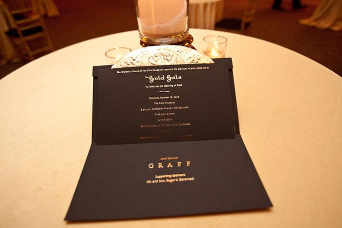 thư mời gala dinner