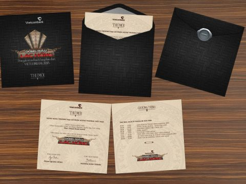 Cách thiết kế thư mời Gala Dinner trang trọng cho tiệc cuối năm
