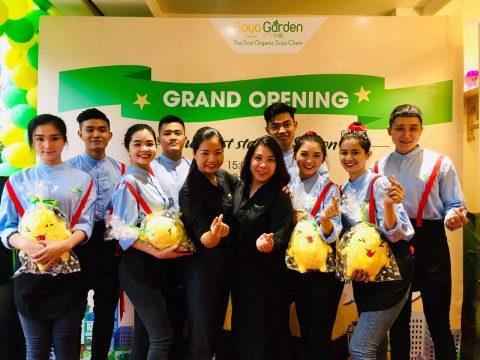 Lễ khai trương cơ sở mới của Hệ thống Đậu nành Chuẩn Hữu cơ Đầu tiên – Soya Garden