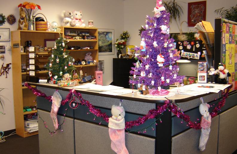 tổ chức giáng sinh tại công ty