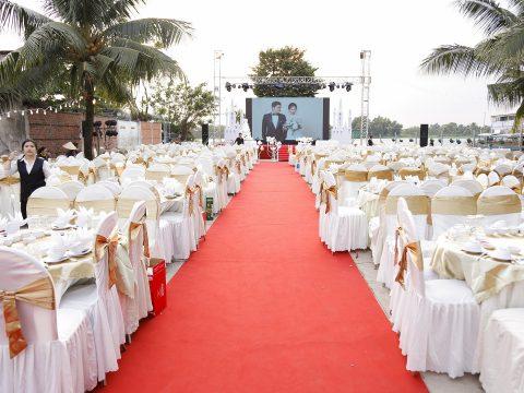 5 Nguyên tắc để tổ chức tiệc cưới ngoài trời thật hoàn hảo