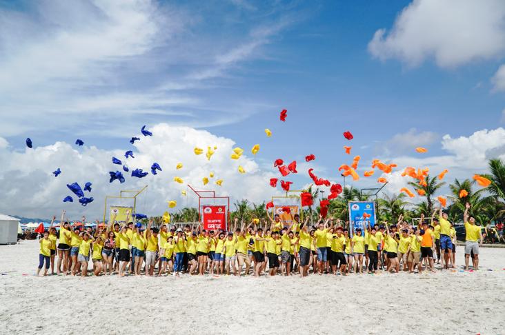 Tổ chức Team Building Bãi Biển cùng những trò chơi vui nhộn