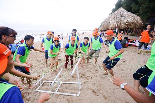 tổ chức team building ở vũng tàu