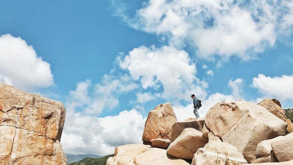 công viên đá hang rái