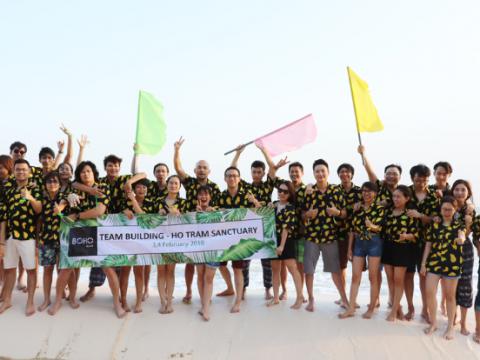 Tổ chức Team Building Hồ Tràm 2 ngày 1 đêm cho doanh nghiệp