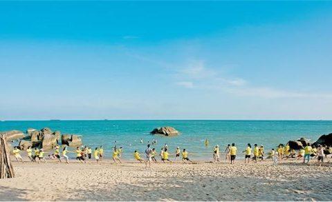 Tổ chức Team Building Long Hải với những bãi biển đẹp