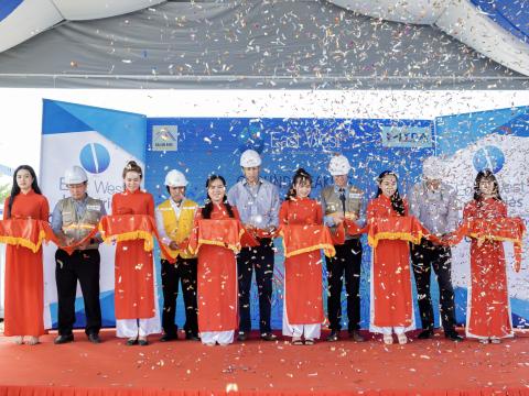 """Lễ khởi công """"Dự án xây lắp hoàn thiện mở rộng nhà xưởng"""" công ty TNHH East West Industries Việt Nam"""