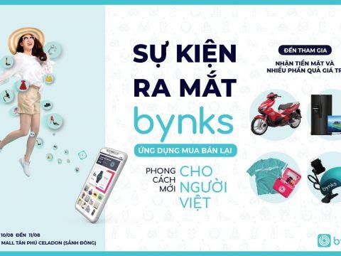 Đếm ngược ngày ra mắt bynks – Ứng  dụng điện tử đến từ Singapore