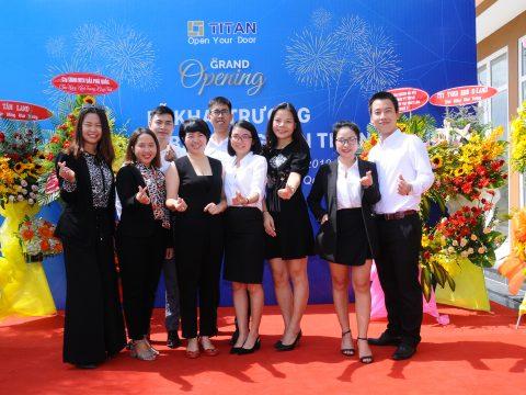 Nồng nhiệt buổi lễ khai trương sàn giao dịch bất động sản TITAN GROUP tại đảo ngọc Phú Quốc