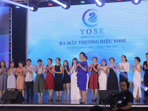 Lễ ra mắt thương hiệu YOSE Việt Nam – Bí quyết cho làn da không tuổi