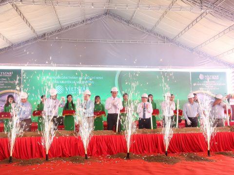 Lễ khởi công xây dựng Nhà máy đốt rác phát điện đầu tiên tại TP.HCM của công ty Vietstar