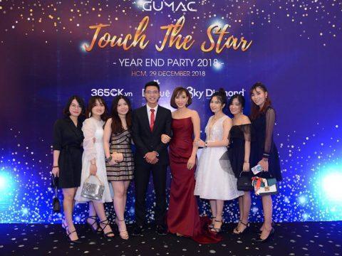 """Tỏa sáng với đêm tiệc Year End Party """"Touch The Star"""" của công ty GUMAC"""