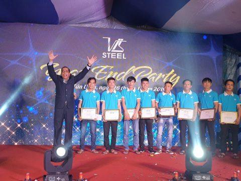 Công Ty Vis Steel Tổ Chức Year End Party Khép Lại Một Năm Thành Công