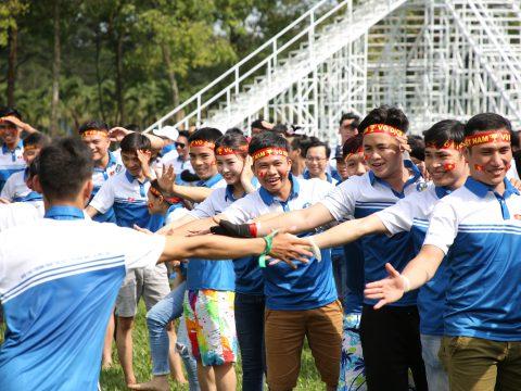 """Thử thách chính mình với chương trình Team Building """"Vượt ngưỡng mỗi ngày – Vươn tầm quốc tế"""" của Sài Gòn Center Real"""