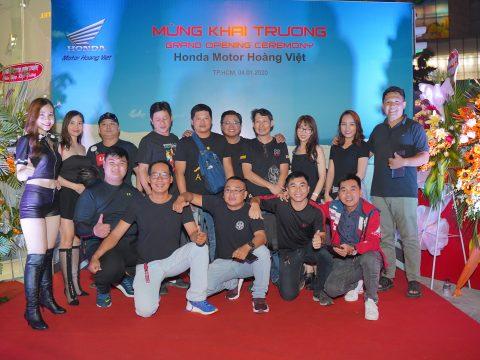 """Đêm tiệc Gala Dinner giao lưu CLB Biker – Đón mừng Khai Trương """"Đứa con thứ 2"""" của Honda Motor – Honda Motor Hoàng Việt"""
