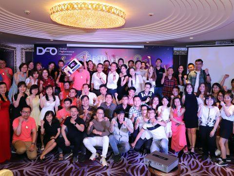 """Ấm áp buổi Tiệc Tất Niên Cuối Năm """"Tet Party – Spring Up – Build Up Together"""" của DFO Global Việt Nam"""