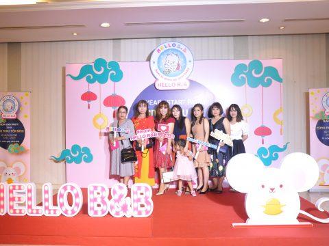 """""""Let's Shine Together – Cùng Nhau Tỏa Sáng"""" với Year End Party và Lễ Kỷ Niệm 20 Năm thành lập của công ty HELLO B&B"""