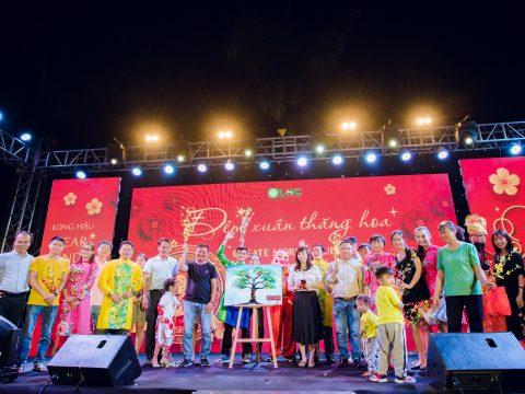 """Rộn rã niềm vui đoàn viên cùng buổi Tiệc Tất Niên cuối năm """"Đêm Xuân Thăng Hoa"""" của công ty Long Hậu"""