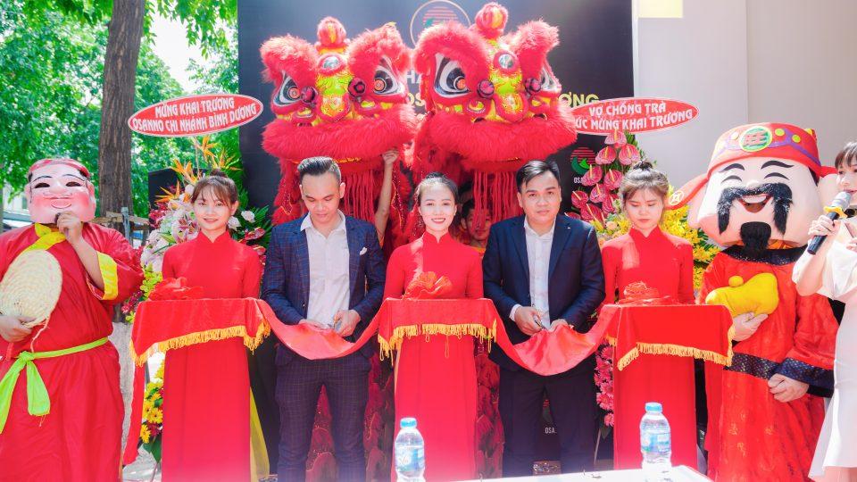 Lễ khai trương Showroom Osanno Bình Dương - Thương hiệu ghế massage công nghệ cao đến từ xứ sở Hoa Anh Đào