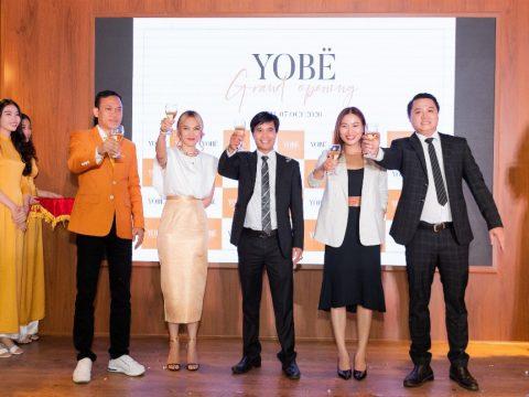 Lễ ra mắt thương hiệu YoBe – Nền tảng kinh doanh mỹ phẩm thông minh 4.0