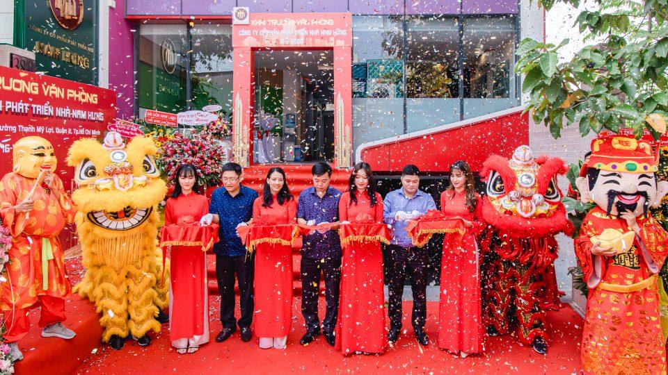 Hân hoan buổi Lễ Khai Trương Văn Phòng Công ty cổ phần phát triển Nhà Nam Hưng