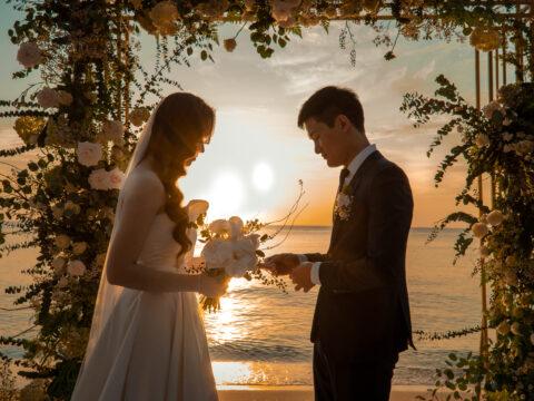 Lãng mạn cùng Tiệc cưới ngoài trời Phú Quốc của đôi uyên ương Hải Thảo